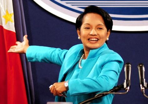 Image: Philippine President Gloria Macapagal Arroyo