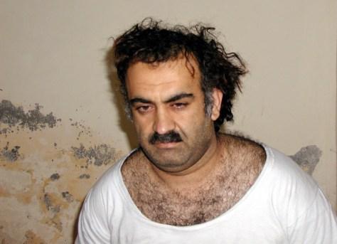 Image: Alleged Sept. 11 mastermind Khalid Shaikh Mohammed