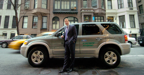 Image: Bill Ford and Ford Escape Hybrid