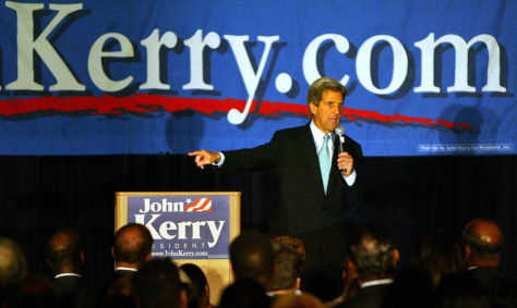 John Kerry Speaks In Washington DC