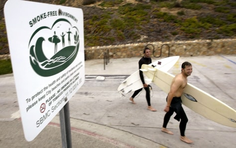 Smoking Ban Proposed On Some California Beaches