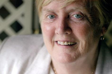 Cancer survivor Joan Syron