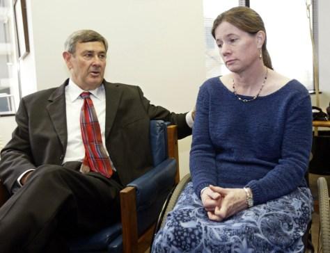 Image: Dennis Schoville and Benetta Buell-Wilson.