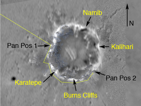 Image: Crater map