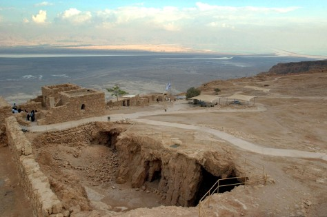 Image: Masada mountain