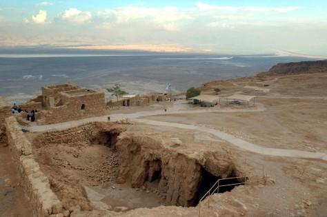 Image: Masada mountain