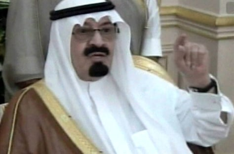 IMAGE: SAUDI ARABIA'S CROWN PRINCE ABDULLAH