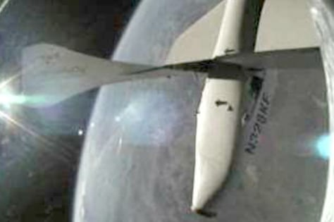 Image: SpaceShipOne in space