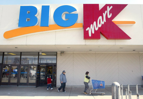 FILE PHOTO Kmart To Sell up To 54 Stores To Sears