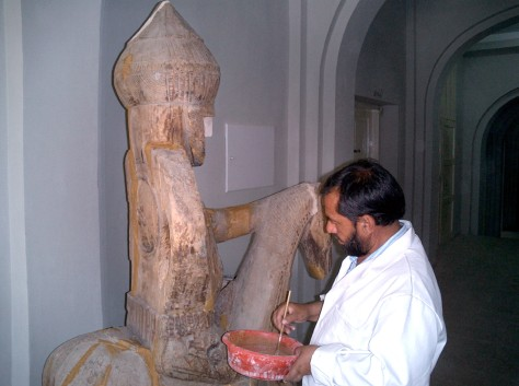 Kabul Museum restoration project.