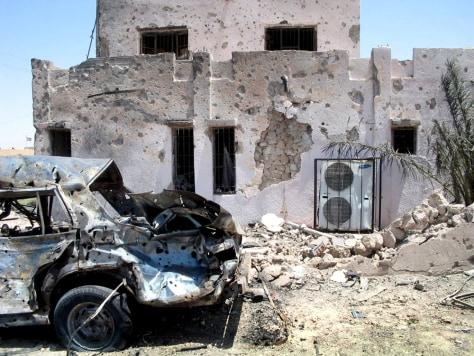 IMAGE: CAR BOMB IN HADITHA, IRAQ