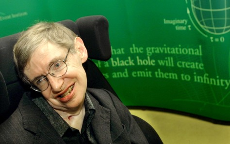 Astrophysicist Stephen Hawking