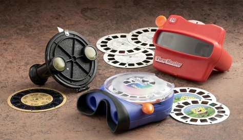 Different models of View-Master