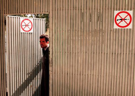 Image: Medecins Sans Frontieres employee.