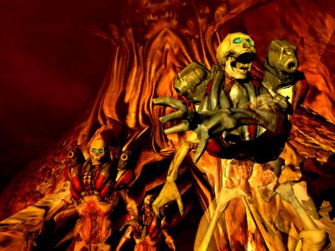 """scene from """"Doom 3"""""""