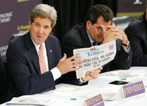 Kerry Campaign Continues Midwest Tour