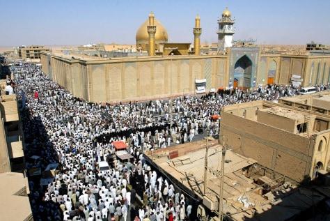 BOMBING MOHAMMED BARQIR AL-HAKIM