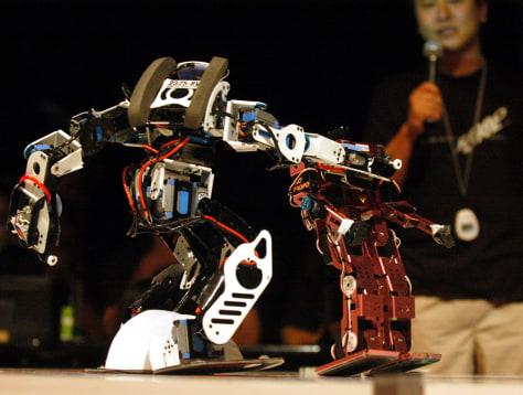 Image: 2325-RV and Hajime Robot