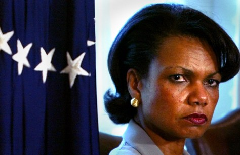 Image: National Security Adviser Condoleezza Rice