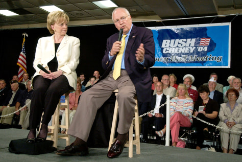 Image: Cheney, wife