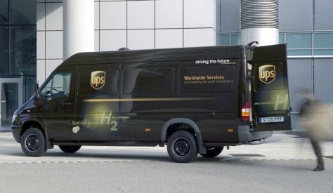 UPS FUEL CELL VAN