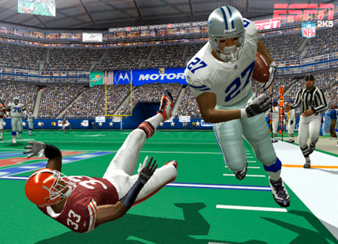 screenshot from 'ESPN 2K5'