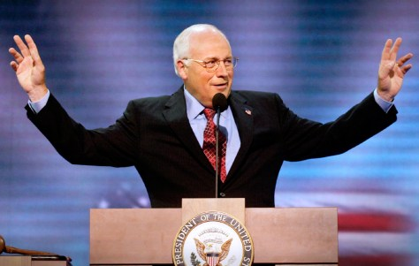 Vice President Cheney addresses Republican National Convention
