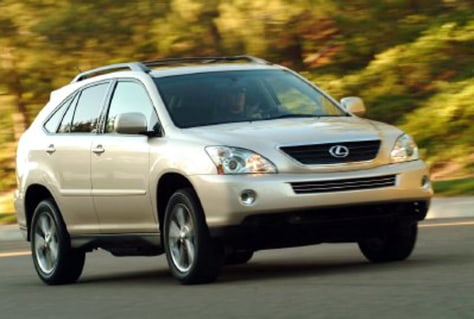 Lexus Hybrid Suv Orders Set Record Us News Environment Green