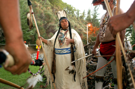 Tribe Uses War Dance Against Calif Dam Us News Nbc News