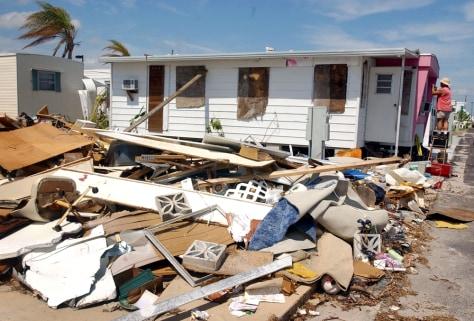 Image: Damaged Florida home