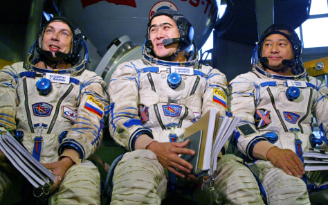 New crew of space station