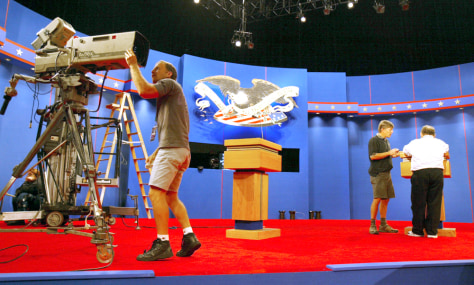 Officials Prepare For First Presidential Debate