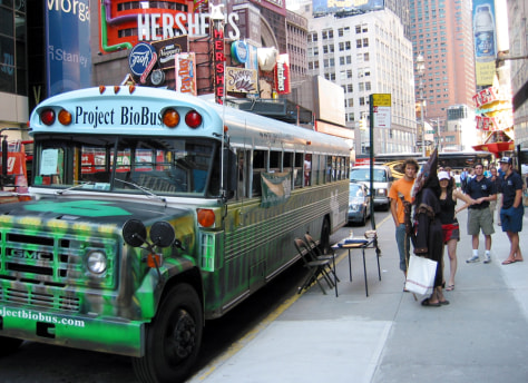 BIOBUS IN NEW YORK CITY