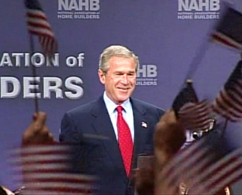 Image: Bush in Ohio