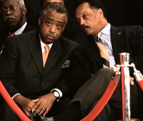 Image: Rev. Al Sharpton and Rev. Jesse Jackson