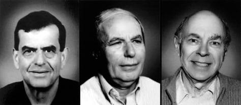 Image: 2004 Nobel Prize in chemistry winners.