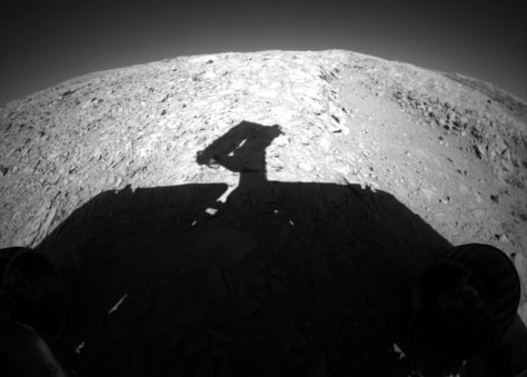 Image: Rover silhouette