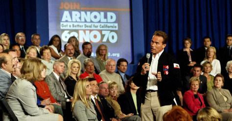 California Gov. Arnold Schwarzenegger