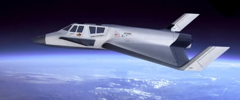 Image: Suborbital vehicle