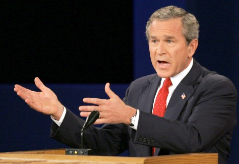 Bush, Kerry Battle In Final Presidential Debate