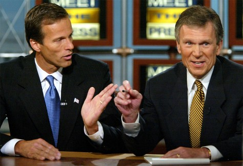Daschle and Thune speak on Meet the Press television news program