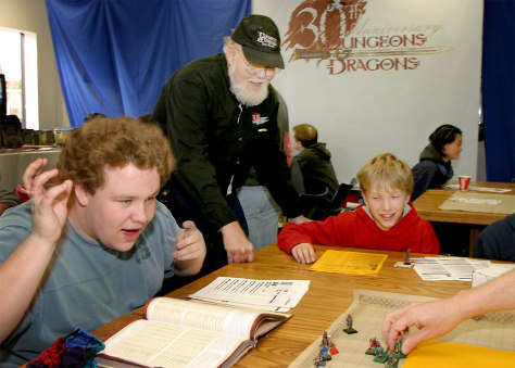 Image: Dungeons & Dragons players