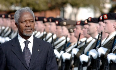 Image: Kofi Annan in Ireland