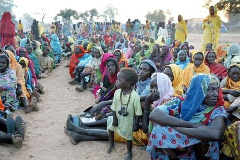 SUDAN DARFUR AID