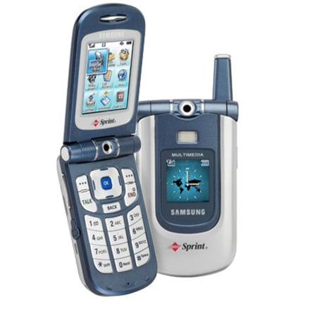 Samsung's MM-A700 multimedia phone.