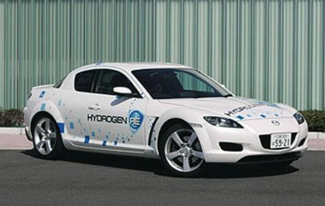 IMAGE: MAZDA'S GAS-HYDROGEN CAR