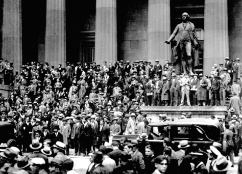 CROWDS STOCK MARKET CRASH