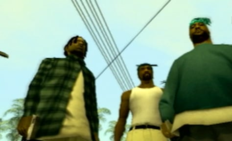 """Grand Theft Auto: San Andreas"" screenshot"