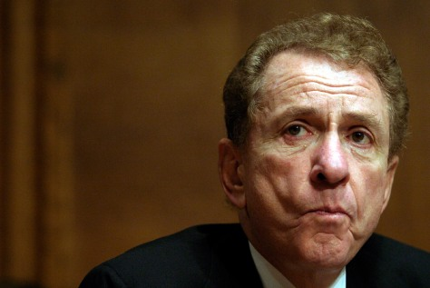 Senator Arlen Specter attends a Senate Judiciary Committee hearing