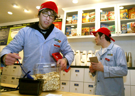 Image: Cereality Cereal Bar and Cafe employee